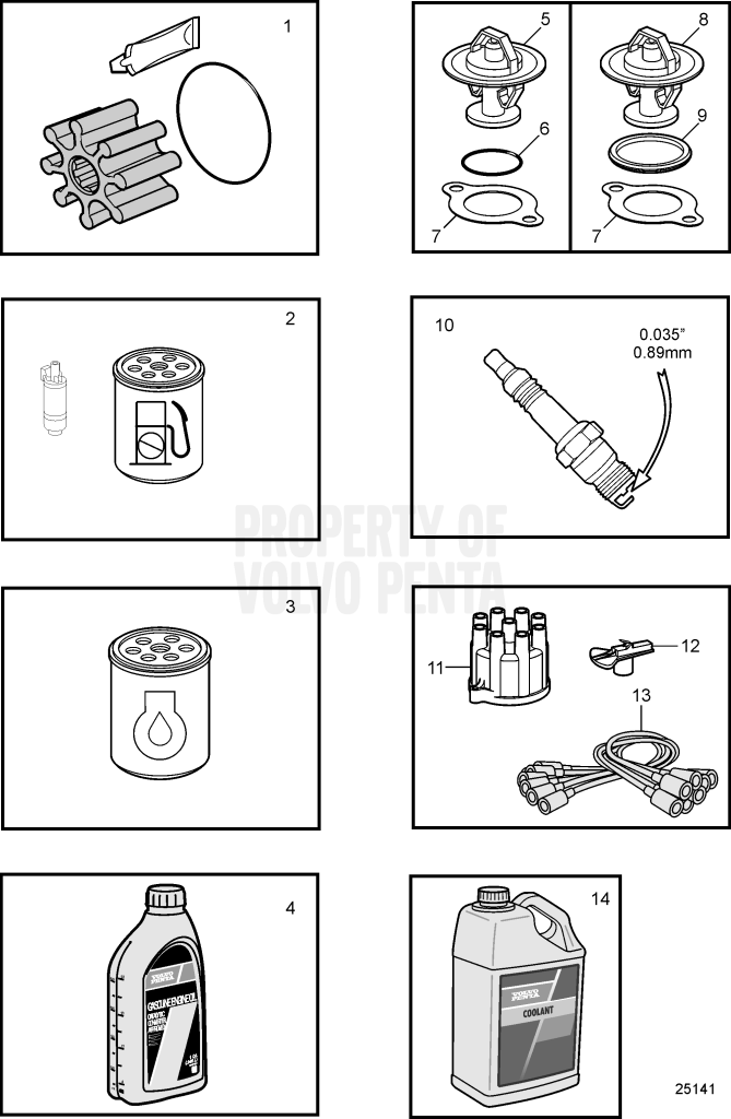 maintenance parts  5 0l  u0026 5 7l 5 7gl-a  5 0gl-a