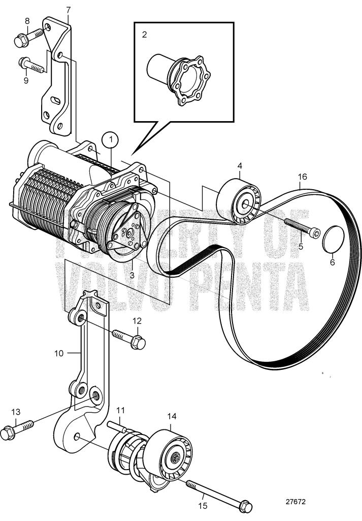 Compressor D6 350a A D6 350a B D6 370a B D6 370a C D6 370a D D6