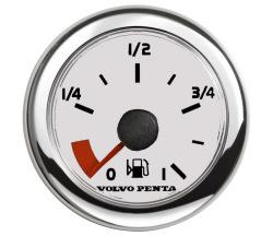 Volvo Penta Fuel Gauge-Fuel Gauge - White