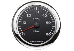 "5"" Speedometer, 0-60 - Black"