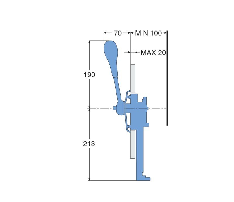 Side Mount Control, PC-741