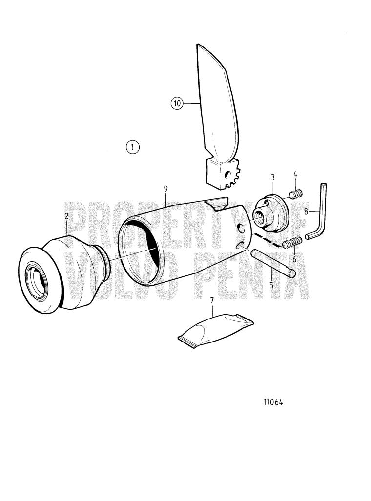 Folding Propeller 2-Blade, Earlier Production: Common ...