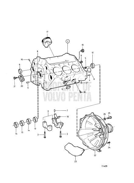 Cylinder Block And Flywheel Cover: A