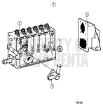 Fuel Injection Pump, Components: 866205
