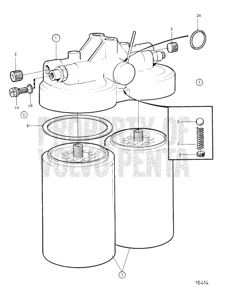 Fuel Filter, Classifiable Fuel System, Components