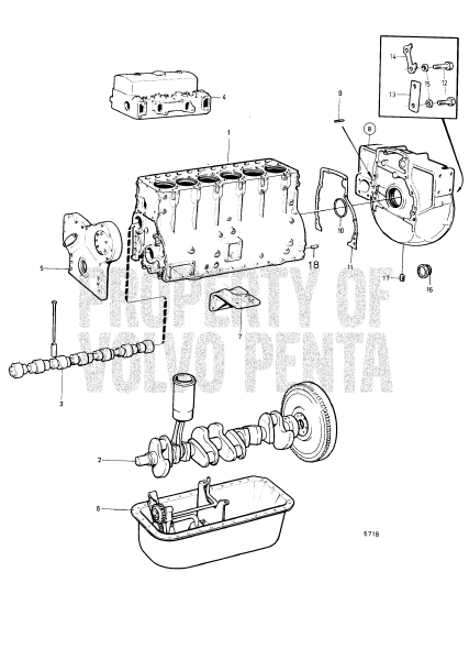Engine With Installation Components