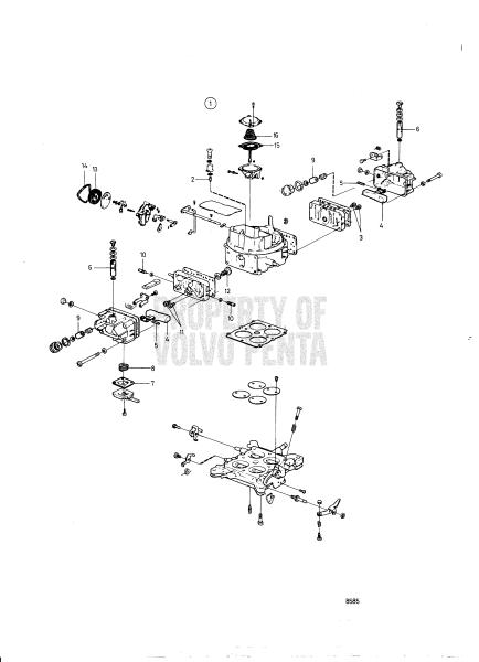 carburetor  855750 - 7743550