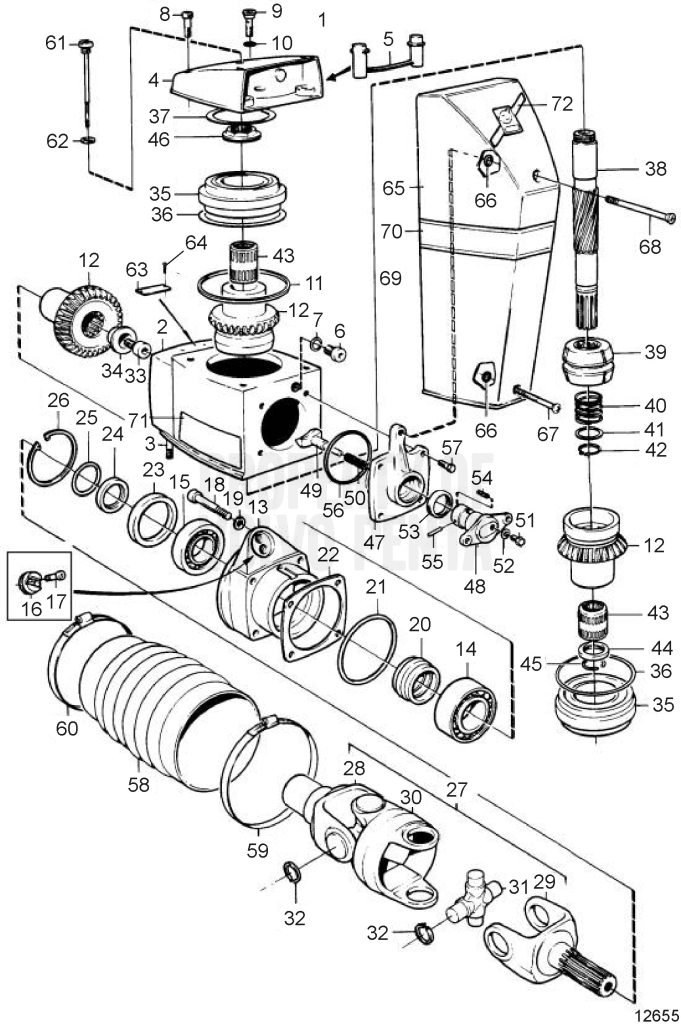 and part of parts diagram penta exhaust exploded engine is oil schematic pan view archives anadolbocek tag com volvo cooling