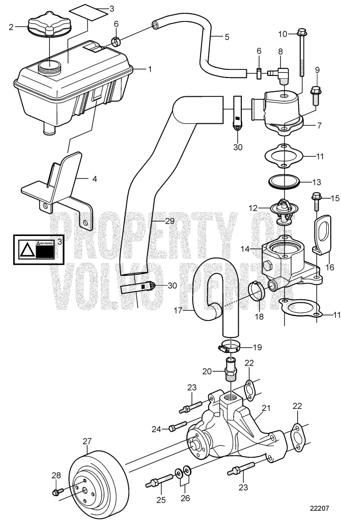 volvo penta impeller replacement instructions