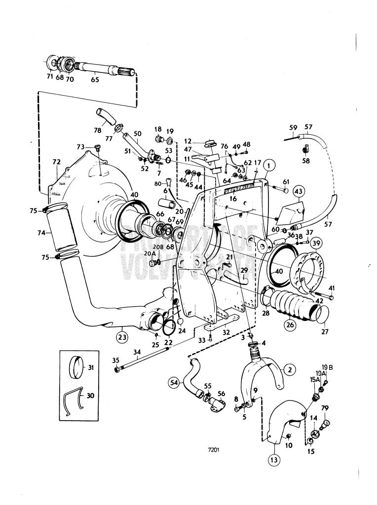volvo penta aq260 wiring harness schematics wiring diagrams rh wine174 com