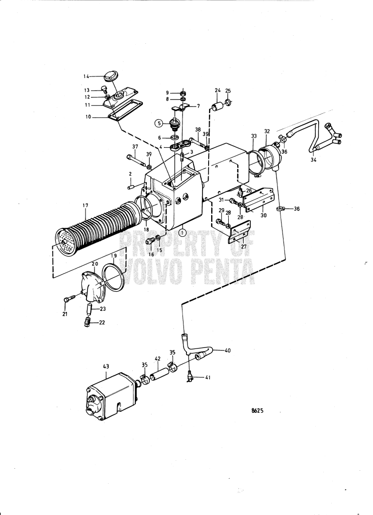 heat exchanger and thermostat with installation components  a tmd40b   a