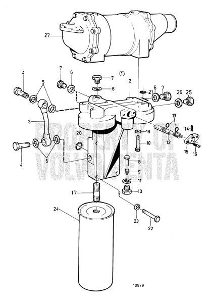 Oil Filter Housing With Shift Valve Classifiable