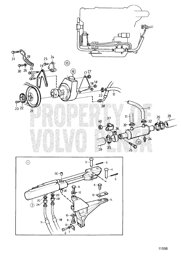Power Steering, Later Prod AD31B - 7745910 ...
