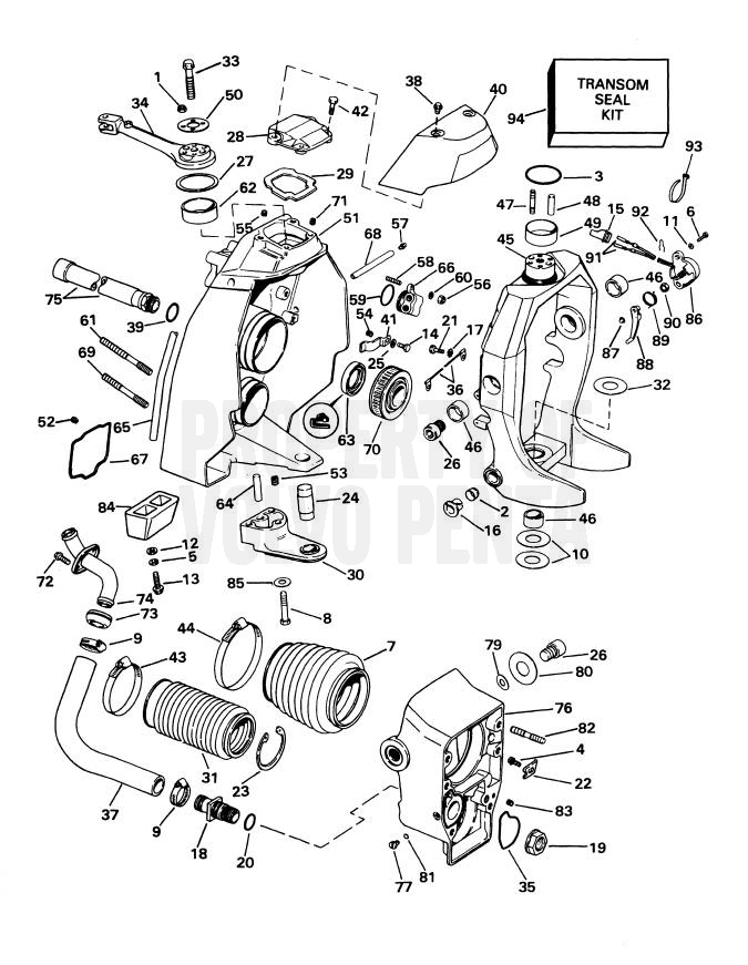 volvo penta sterndrive parts diagram  u2022 wiring diagram for free