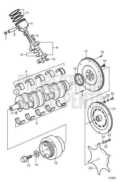 Crankshaft And Related Parts
