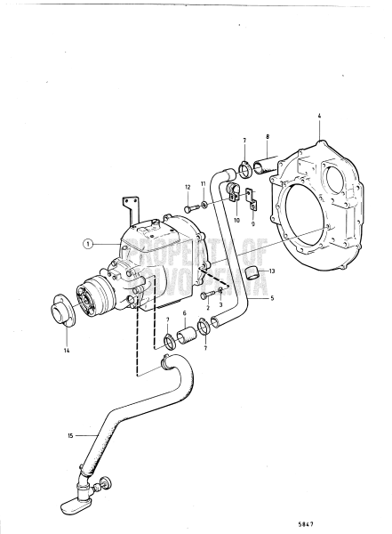 Connecting Components Reverse Gear Ms3c