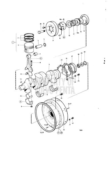 Crankshaft And Related Parts D Aq125a D